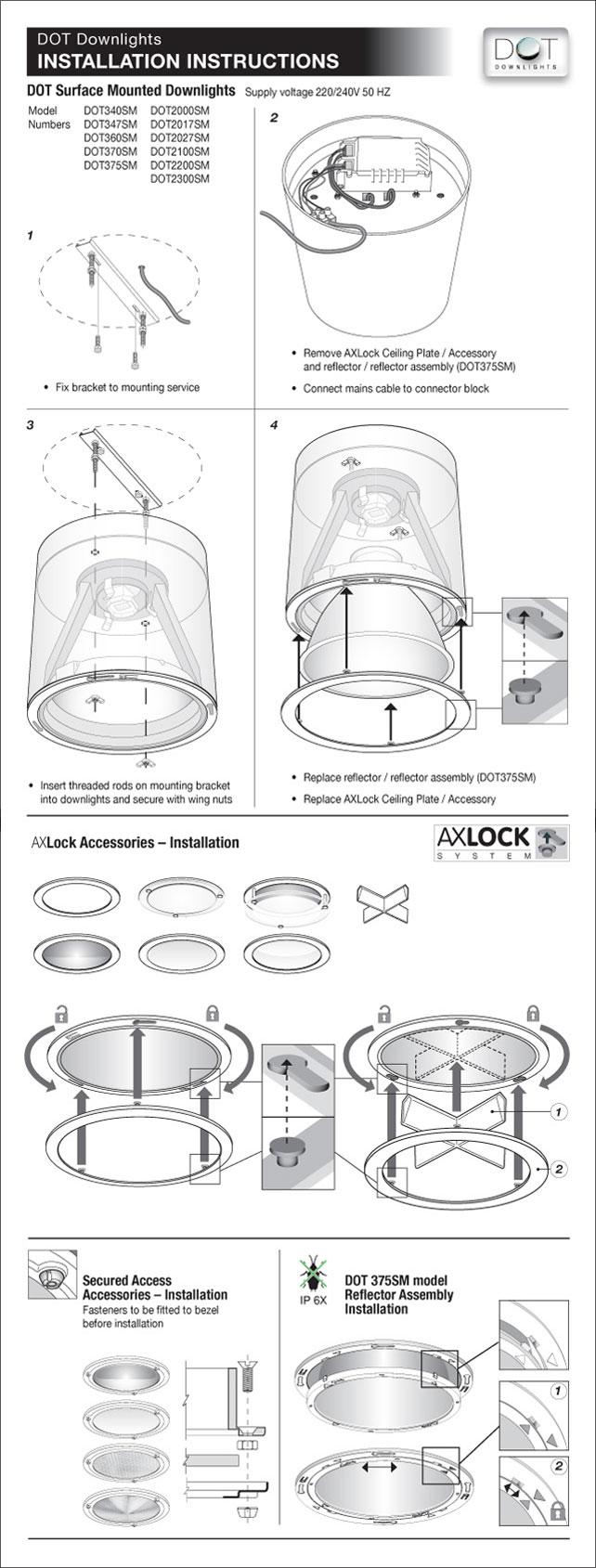 dot downlights rh dotdownlights com downlight installation instructions downlight fitting instructions